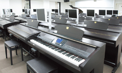 Electric Piano Recital Room